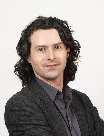 Photograph of Richard Gratwick